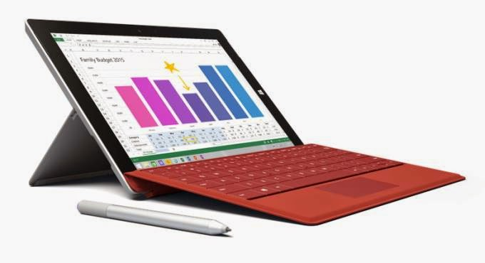 Microsoft Surface 3, microsoft, microsoft surface, microsoft windows, Surface 3 tablet