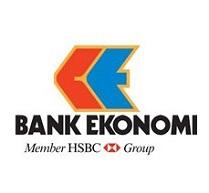 Logo PT Bank Ekonomi Raharja