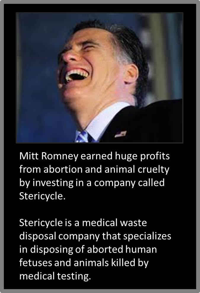 Mitt Romney Hides His History of Profiting from Abortion