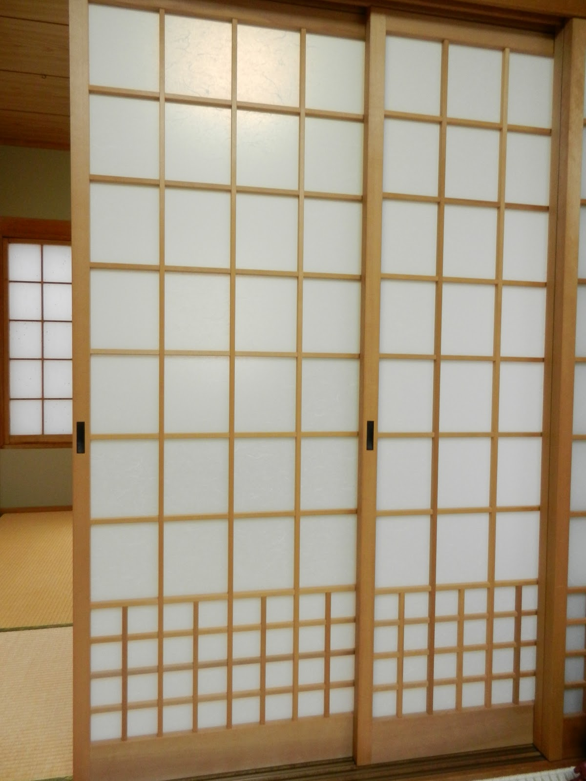 Japanese Culture 3 Types Of Sliding Door And Changing Papers