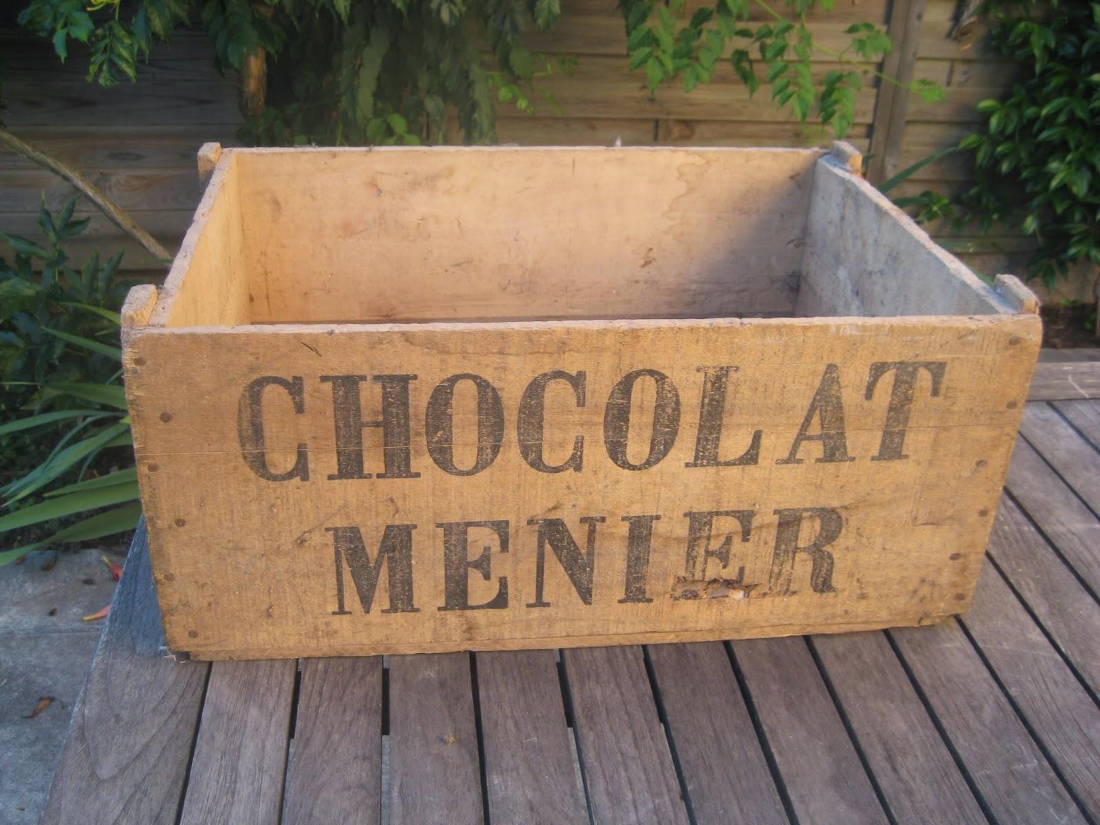 Les enfants de la brocante ancienne caisse en bois - Caisse en bois ancienne ...