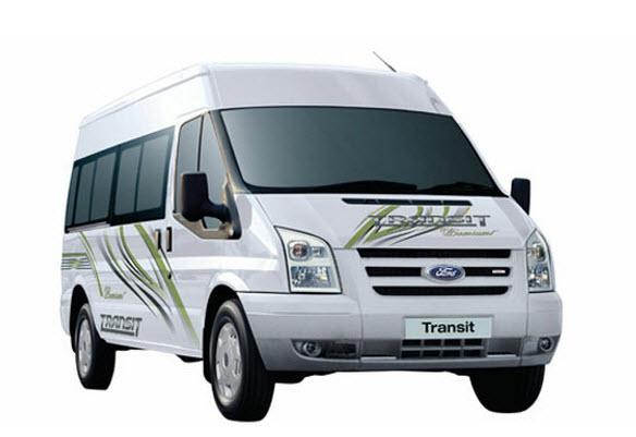 Xe du lịch Ford Transit 16 chỗ 2012