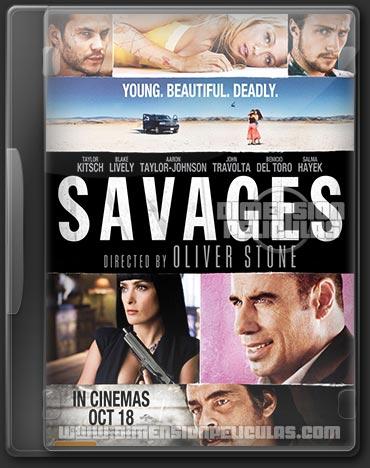 Savages (DVDRip Español Latino) (2012)