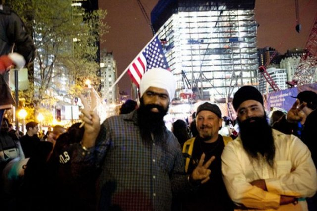 American's Celebration Of Osama Bin Laden's Death At The Ground Zero Seen On www.coolpicturegallery.us