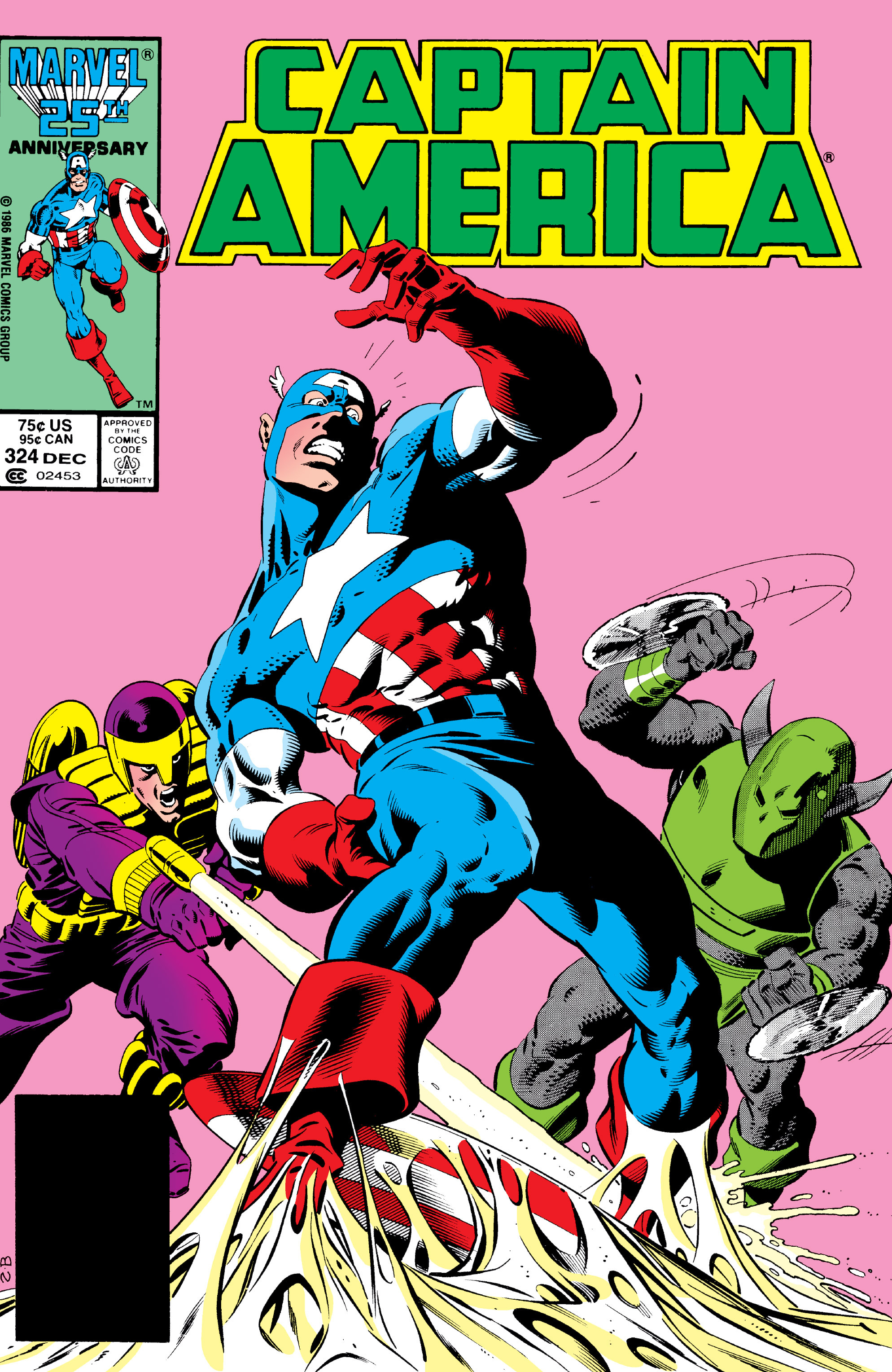 Captain America (1968) Issue #324 #253 - English 1