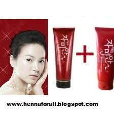 Red Pomegranate whitening Cleanser and Lotion