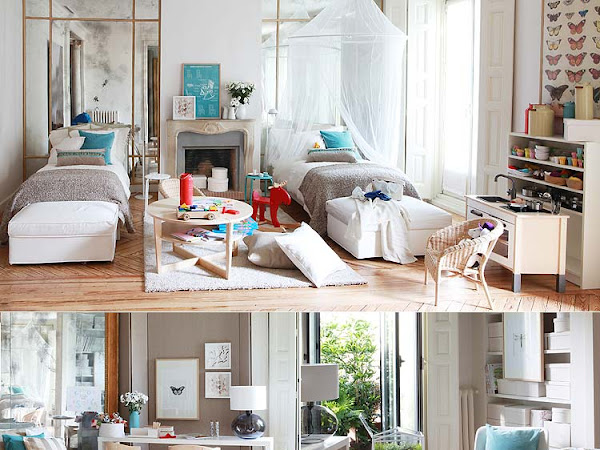 Tres habitaciones , tres estilos