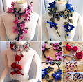 Knitting Garland Scarves $5.00