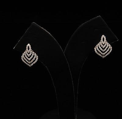Latest Platinum Diamond Ear Ring Models