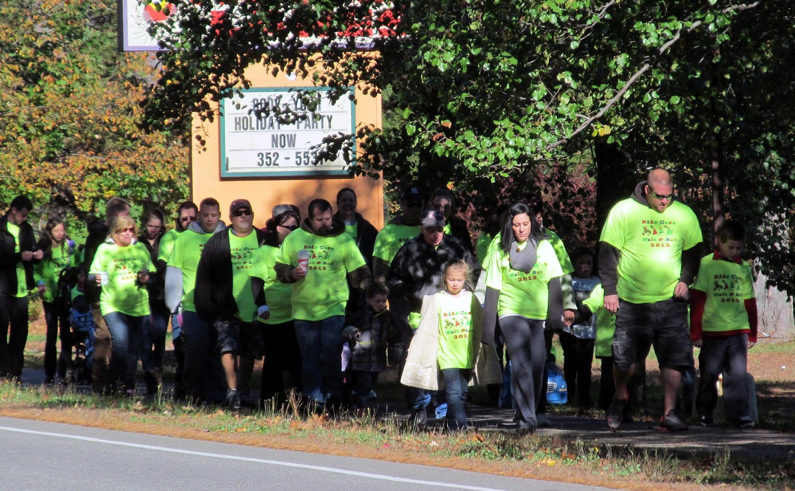 Nearly 200 family members, physicians, nurses, friends and community members participated in Cedarcrest Center's First Annual KIDS CARE Walk & Roll in Keene, New Hampshire recently.  Through a grassroots, on-line fundraising effort, the event generated $15,000 to benefit children with complex medical and developmental needs at the Center.