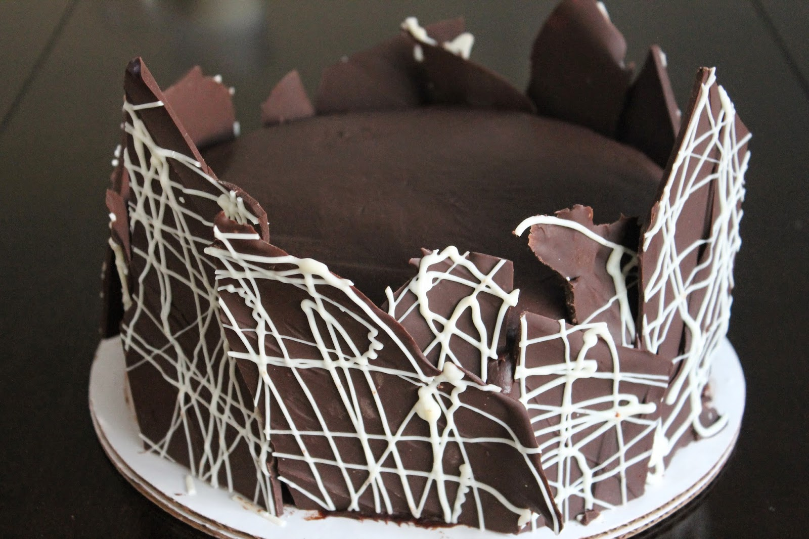 The Cultural Dish Ultra Chocolate Ganache Layer Cake