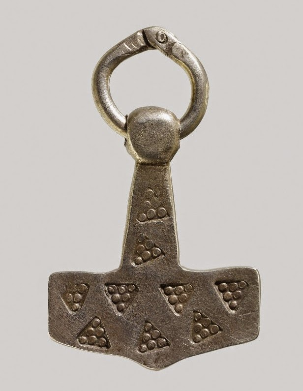 Viking metal a modern fake exposed a modern day forgery of a thors hammer pendant image british museum aloadofball Image collections