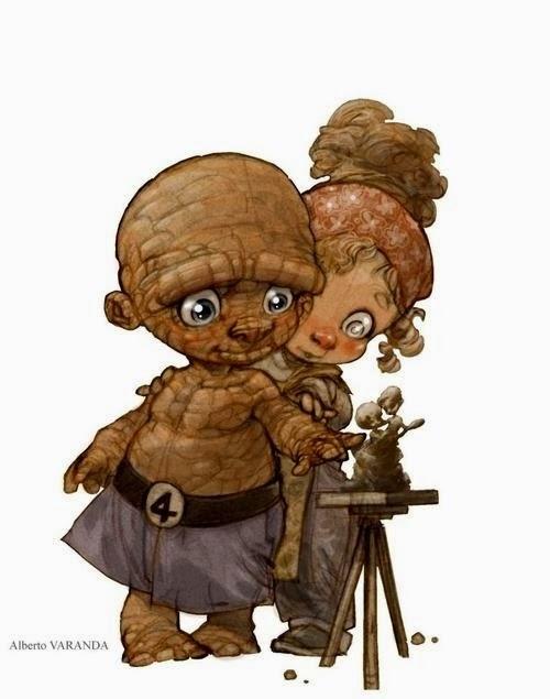 08-The-Thing-Illustrator-Comic-Lover-Alberto-Varanda-Angel-www-designstack-co