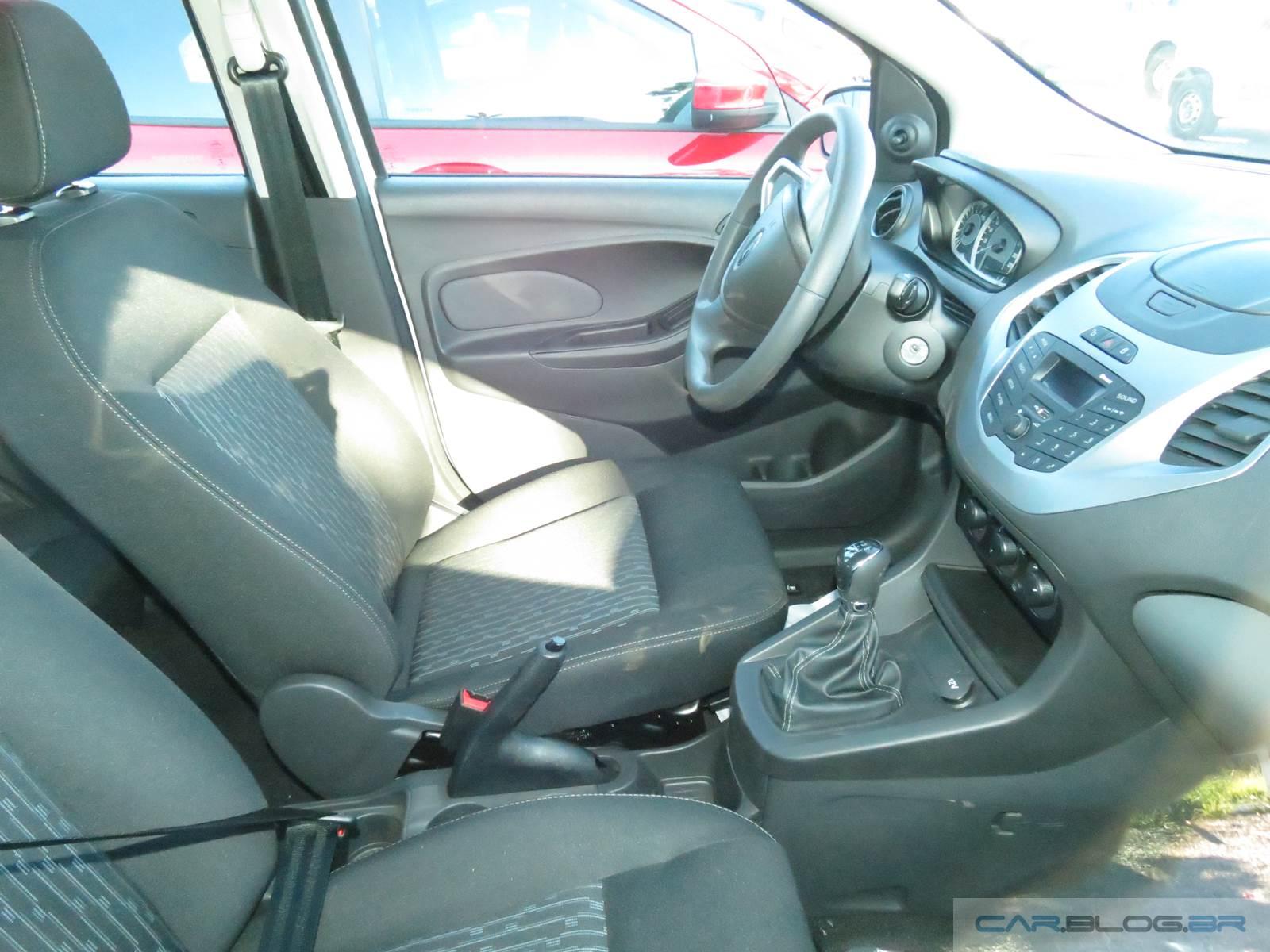 Novo Ford Ka SE 1.5 2015 - interior