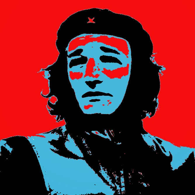 Ted Cruz as Che Guevara - multicolored version