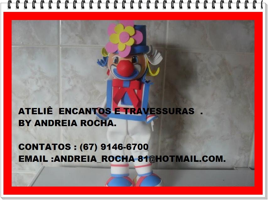 ATELIE ENCANTO E TRAVESSURAS -BY ANDREIA ROCHA