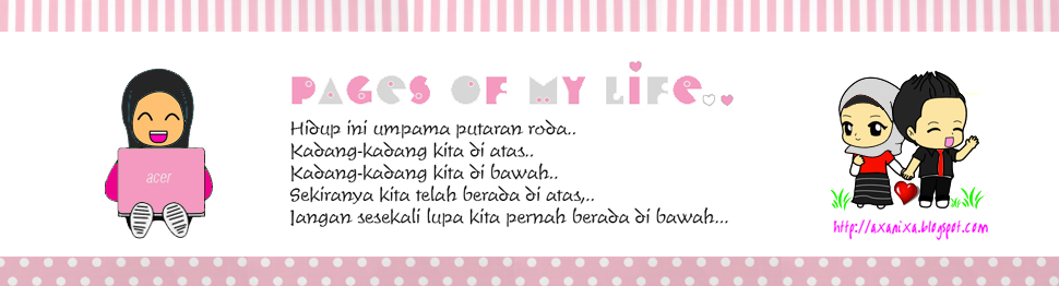 ♥ Pages of my life..