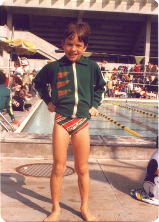 Member Sheeler Winton Swim Club in Miami, Florida 1971-1979