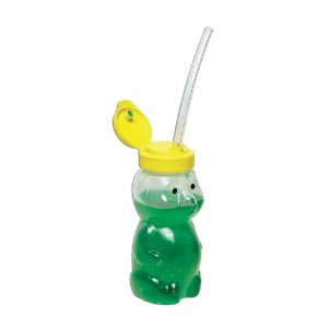 Honey Bear Straw Trainer Cup