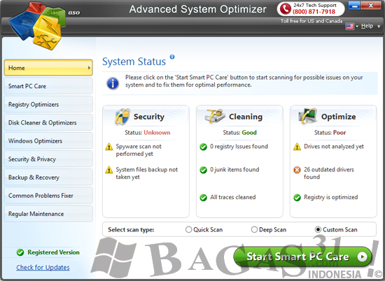 Advanced System Optimizer 3.5 Full Patch