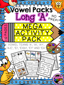 Long Vowels Resource