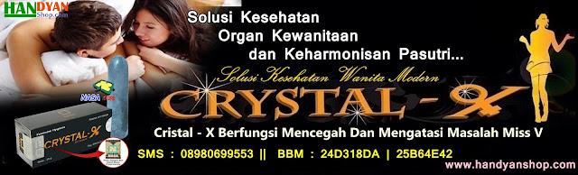 Cara Merawat Organ Intim Wanita Menggunakan Cristal X