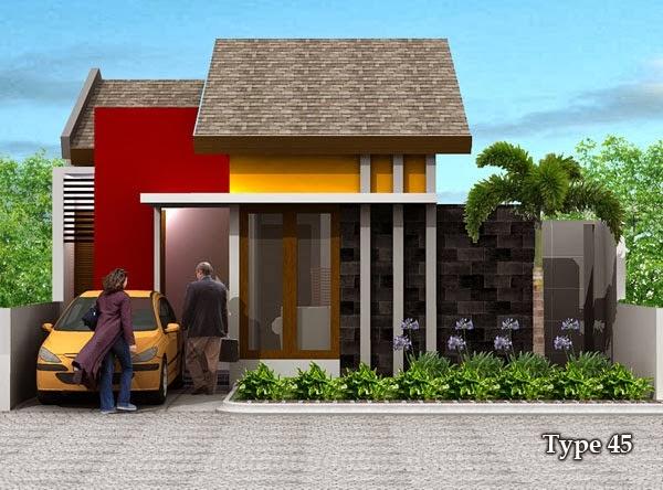 desain dekorasi interior rumah type 45 2014 dekorasi dan