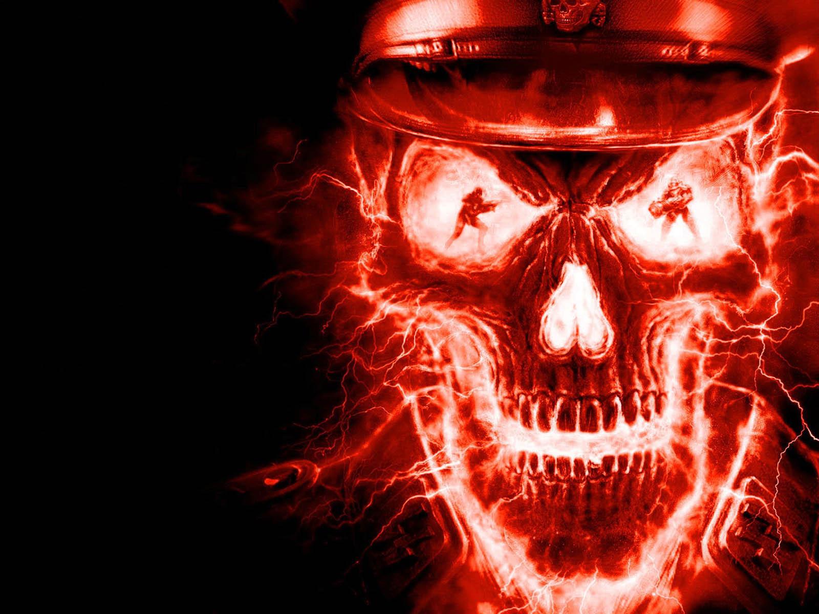 zombie skull wallpapers for desktop - photo #11