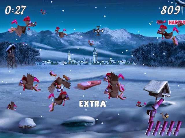 moorhuhn winter online