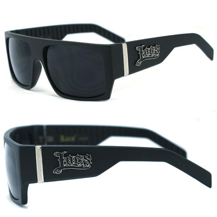 LOCS Sunglasses OG Original Gangster Hardcore Shades Cholo Biker Glasses