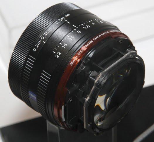 sony rx1 35mm lens mtf chart