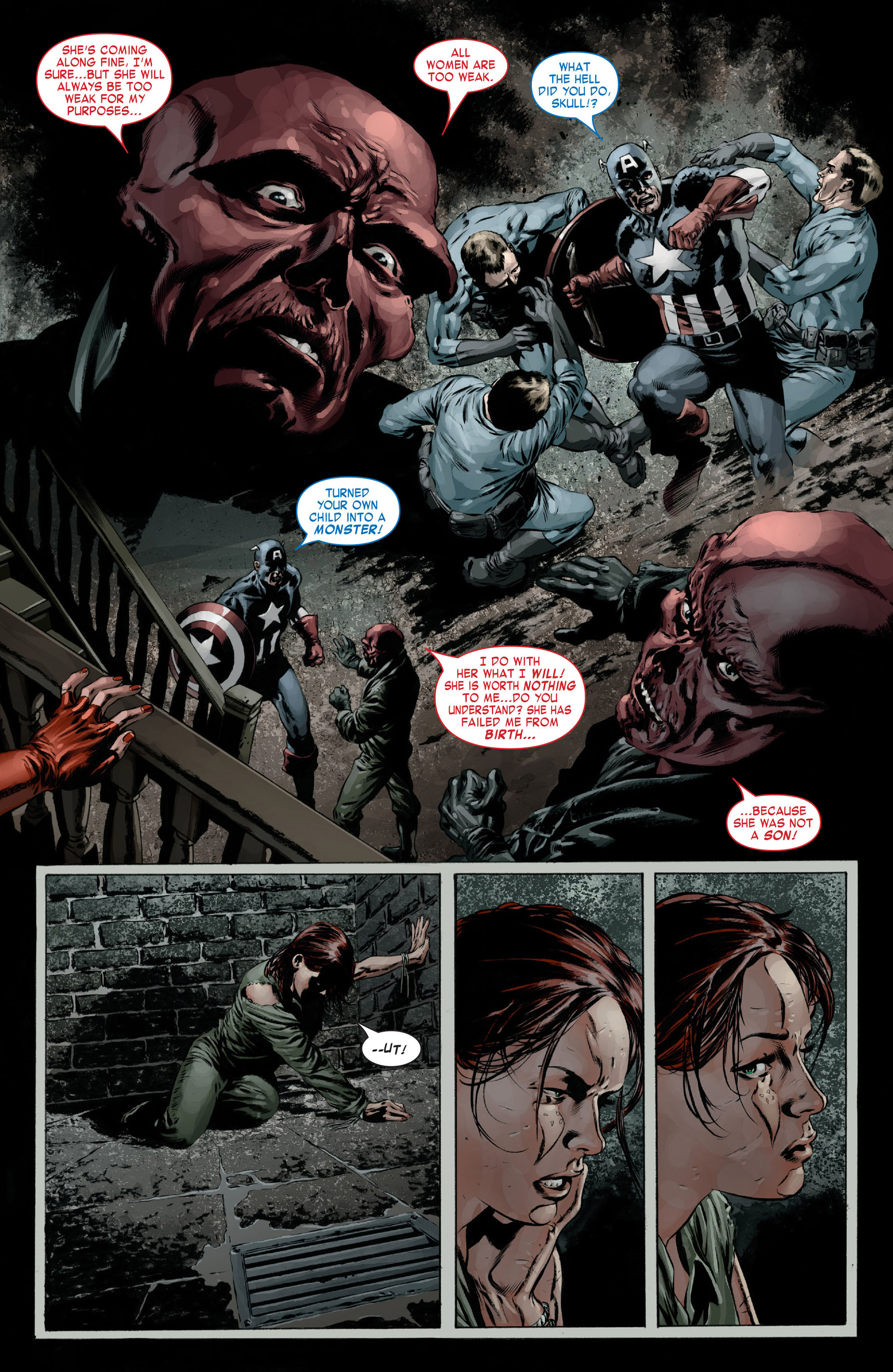 Captain America (2005) Issue #15 #15 - English 22
