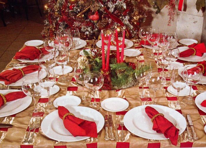 Manualidades para la mesa de navidad manualidades - La mesa de navidad ...