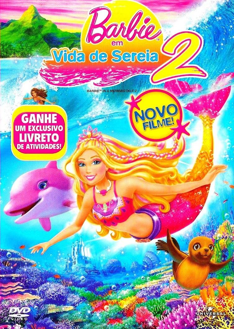 Barbie em Vida de Sereia 2 – Dublado (2012)