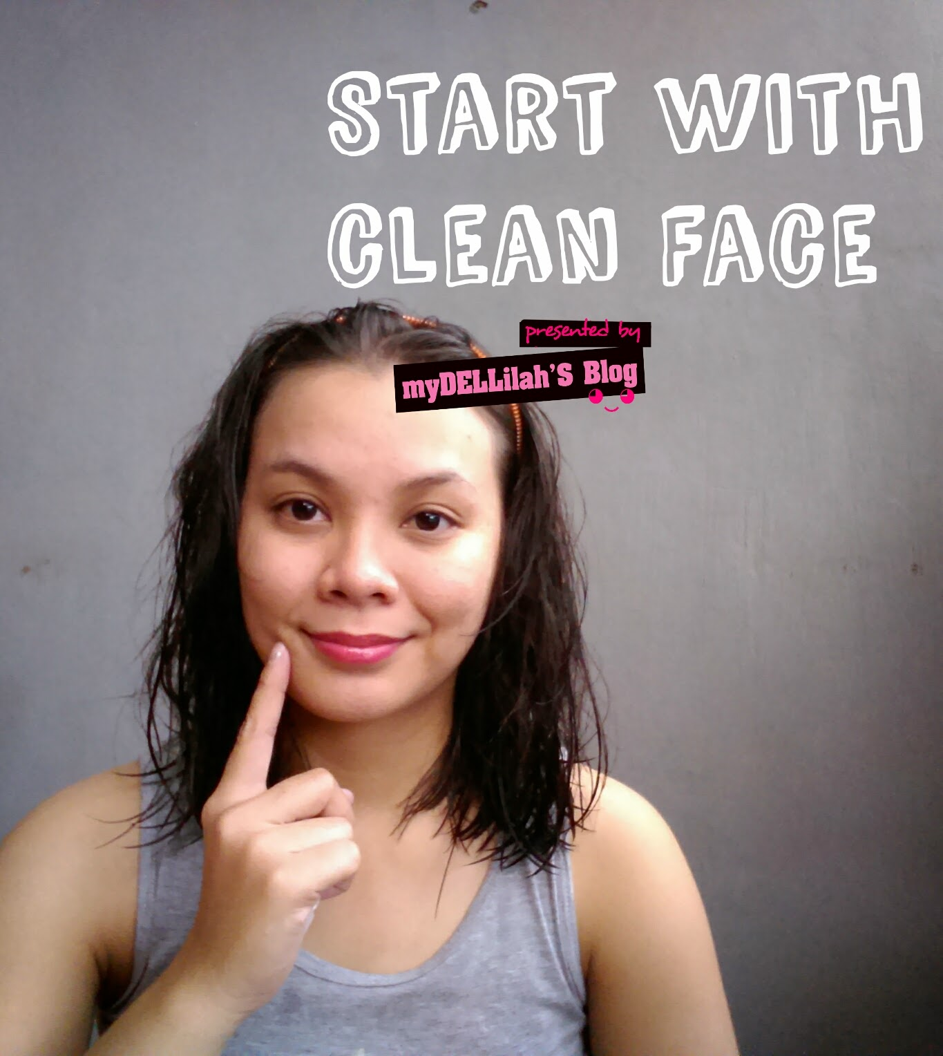 clean face