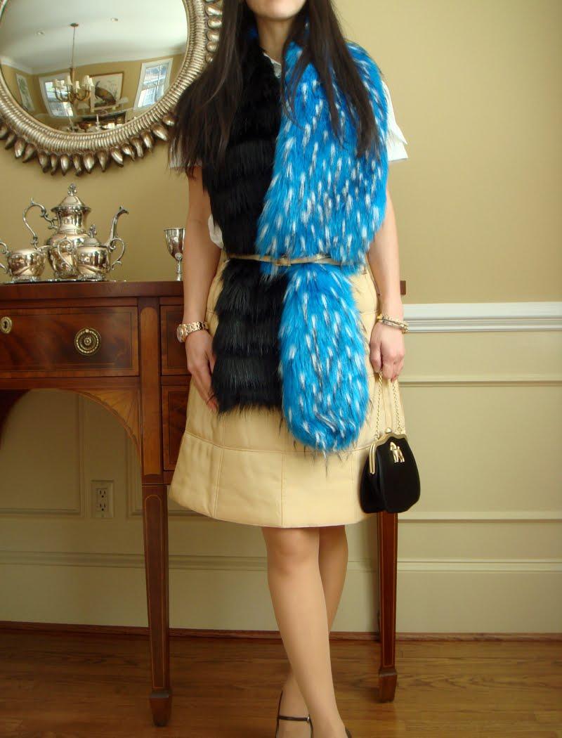 fur belted