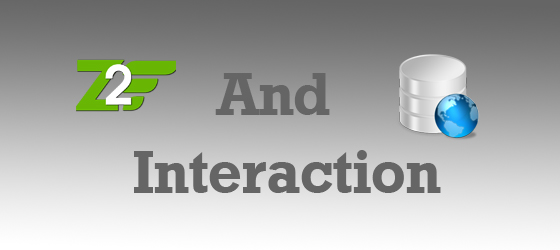 Zend frame work 2 and Database Interaction