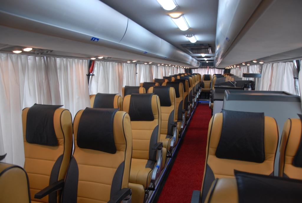 Indian Luxury Buses