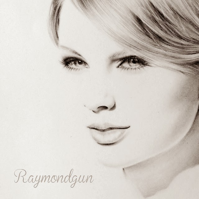 14-Taylor-Swift-Raymond-Gunawan-Minimalist-Celebrity-Drawings-mostly-Black-and-White-www-designstack-co