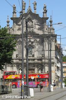 Autocarro turistico no Porto