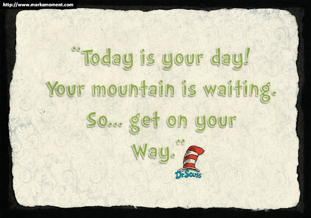 Dr.Seuss Famous Quotes, Markamoment