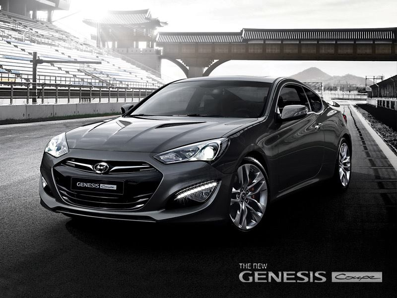 2013 Hyundai Genesis Coupe Official Release