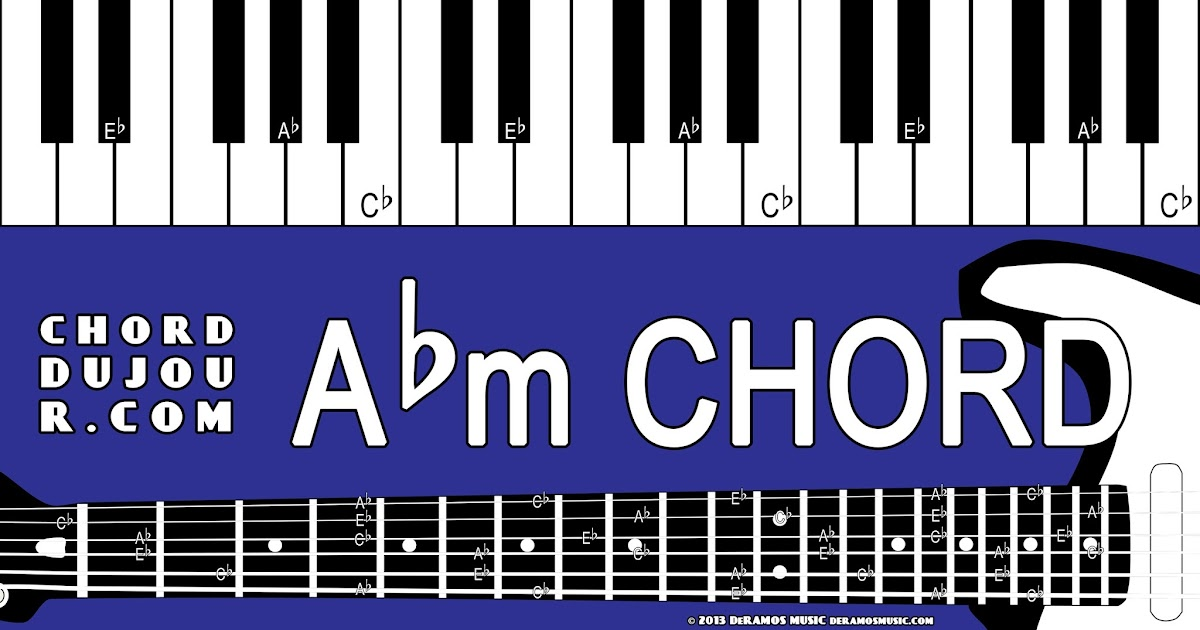 Chord Du Jour Dictionary Abm Chord