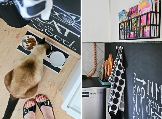 DIY tafellack wand in unserer selbstgebauten IKEA küche   luzia pimpinella