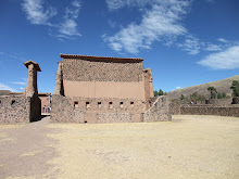 Radchi, an Inka temple