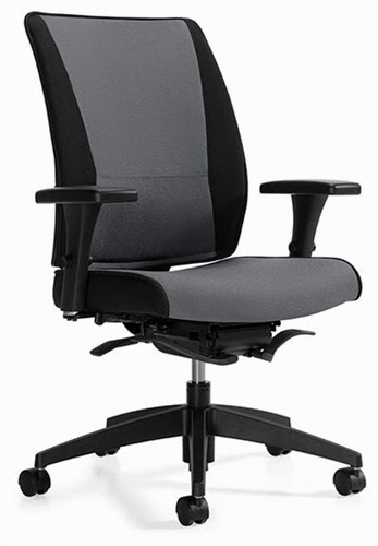 Global Takori High Back Weight Sensing Office Chair