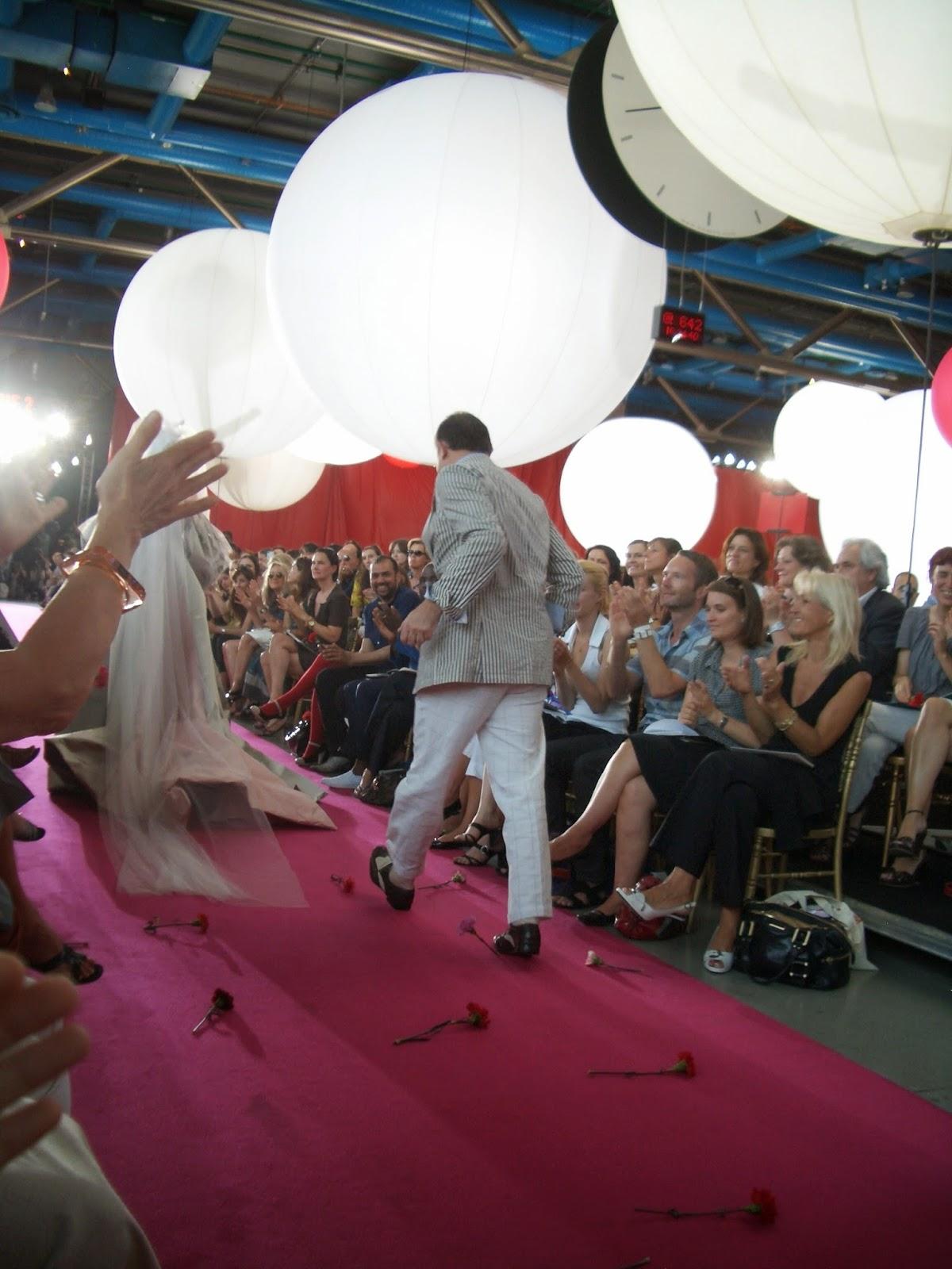 Défilé Couture Christian Lacroix - Photo Julia Garel