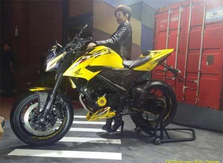 gambar New Honda CB150 terbaru