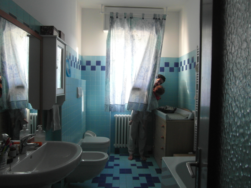 tende da bagno per finestra di semplice cotone una stoffa con