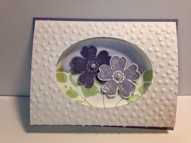 my creative corner a flower shop tri fold window card